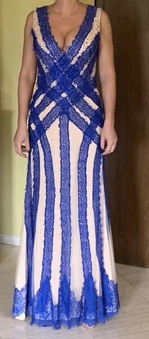 Blaues Abendkleid von Terani Gr. 38