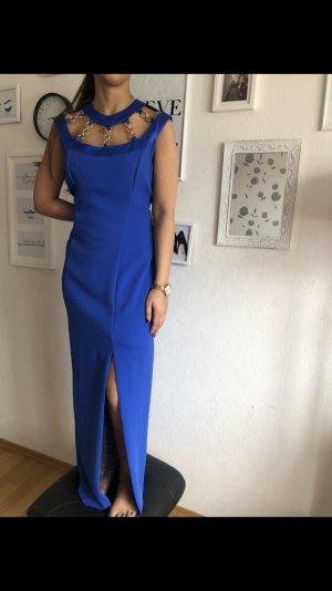 Blaues Abendkleid von Vera Mont