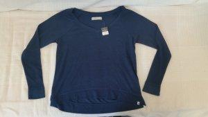 Blaues Abercrombie & Fitch Longsleeve Shirt Gr. S