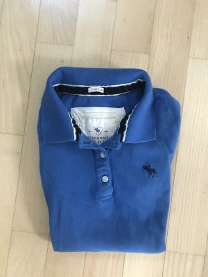blaues Abercrombie&Fitch Polo in Größe M.
