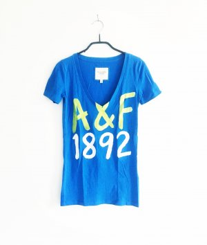 blaues abercrombie & fitch shirt / blue / neon