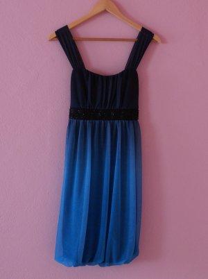 Blaues Abschlussballkleid von Montego