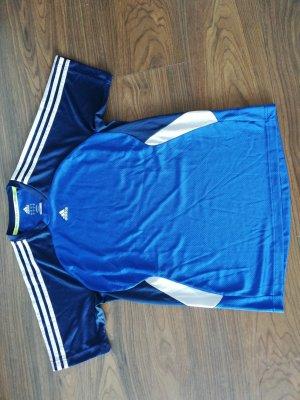 Blaues Adidas Sportshirt
