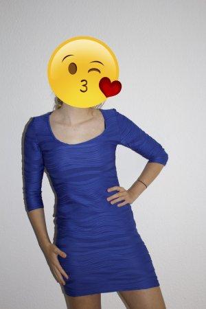 Blaues Atmosphere Kleid