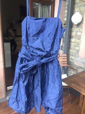 Blaues Ballkleid Größe 40
