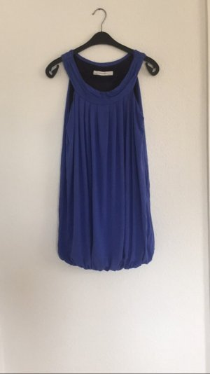 Blaues Ballonkleid Zara
