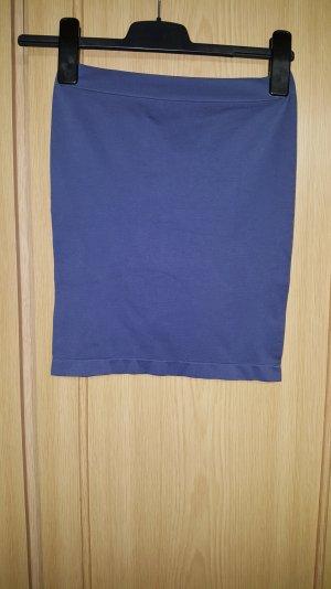 Haut bandeau bleu azur-bleu pâle polyamide