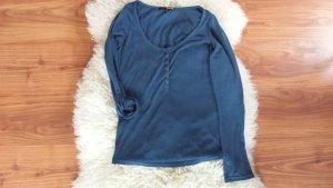 Blaues Basic - Shirt