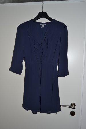 blaues Blusenkleid von H&M