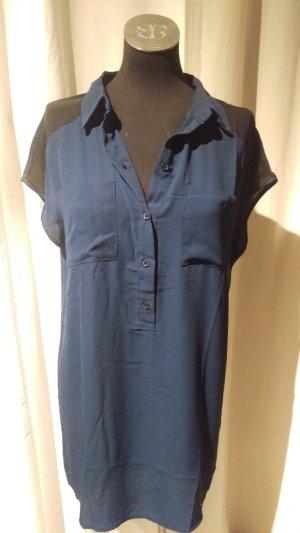 Blaues Blusenkleid von Vero Moda