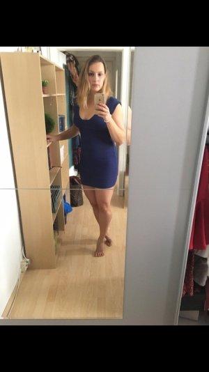 Blaues Cocktailkleid