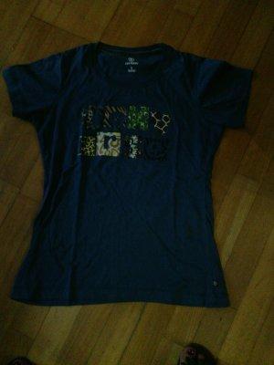 blaues Converse T-Shirt