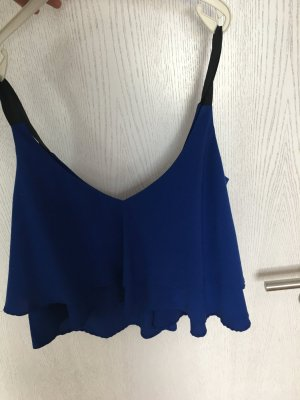 Zara Top bleu