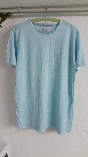 Blaues damen T-shirt