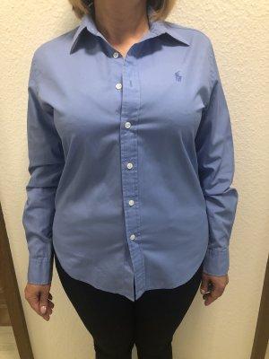 Blaues Damenhemd von Ralph Lauren Größe 10