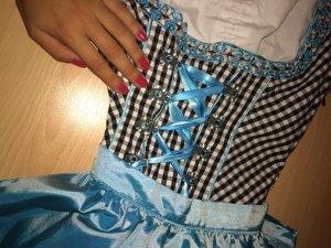 Blaues DIRNDL - Inkl. Bluse!