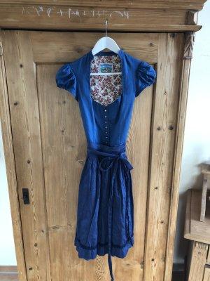 Turi Landhaus Dirndl bleu-bleu acier