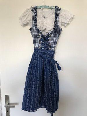 Country Line Vestido Dirndl azul oscuro
