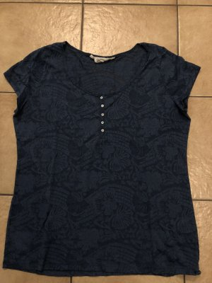 blaues durchsichtiges Shirt von H&M - Gr. XL, wenig getragen