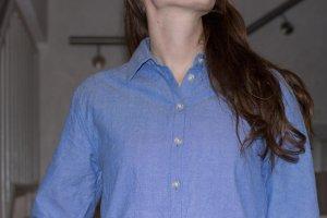 blaues Hemd von Wemoto für Herbst/Winter