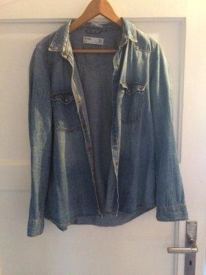 Blaues Hemd von Zara