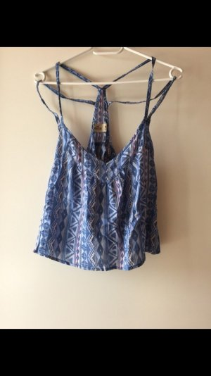 Blaues Hollister Top