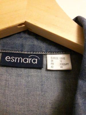 Blaues Jeans Optik Hemd