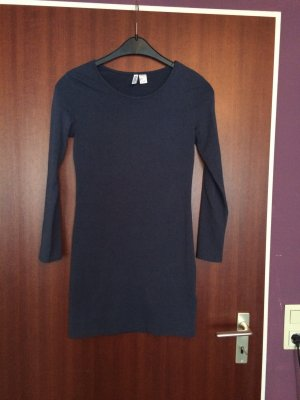 Blaues Jersey Kleid :)