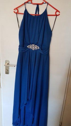 Bodyflirt Vestido mullet azul-azul neón