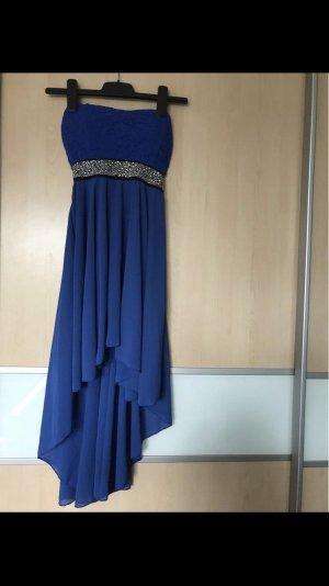 Off-The-Shoulder Dress blue