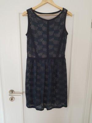 blaues Kleid Gr. 38 von Montego