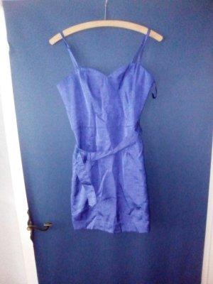 blaues Kleid kurzes 36