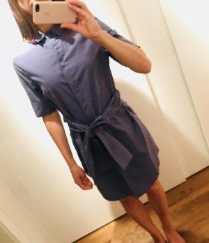 Blaues Kleid mit Schleife, Gr. S
