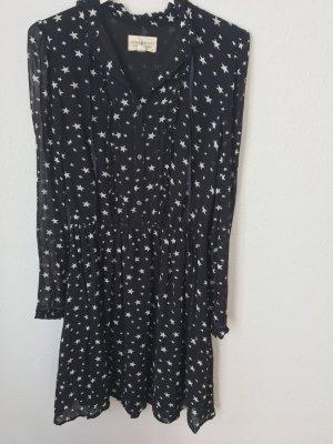 blaues Kleid mit weißen Sternen von Denim & Supply Ralph Lauren, Gr.S