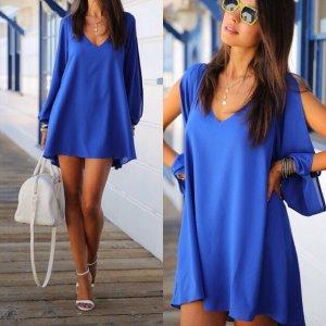 Blaues Kleid Musthave