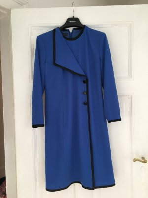 Blaues Kleid von Louis Feraud, Stil Chanel
