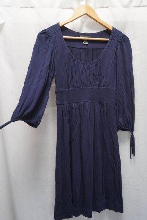 Blaues Kleid von Mango, klassisch, Gr. S, perfekt für jede Gelegenheit