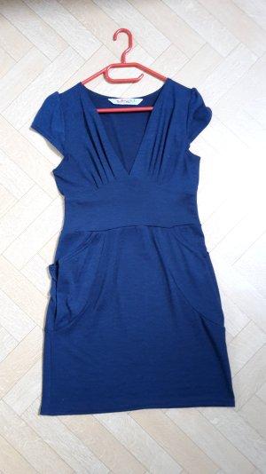 Blaues Kleid von Smash mit Seitentaschen