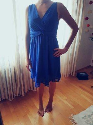 Vero Moda Vestido playero azul-azul neón Poliéster