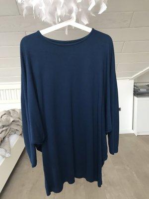 Long Shirt dark blue-blue