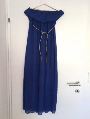 Empire Dress blue