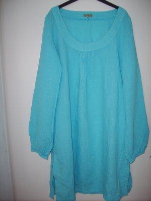 Blaues Leinenkleid/Tunika von DEPT NEU