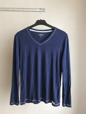 Blaues Longshirt