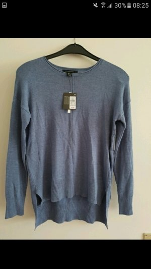 Blaues Longshirt, langarm