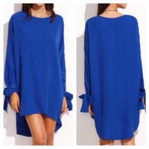Blaues Luftiges Sommerkleid