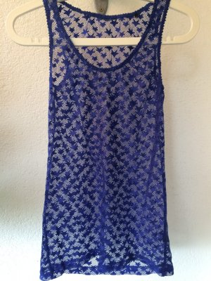 blaues Maison Scotch Top