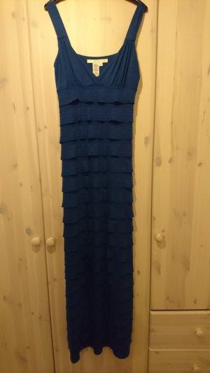 blaues Maxi-Sommerkleid