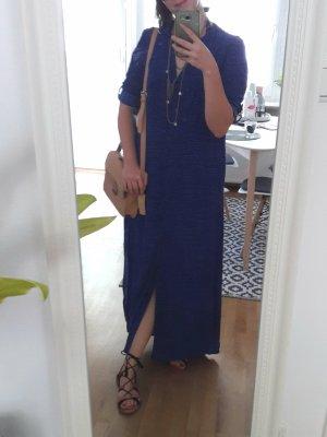 Blaues Maxikleid, Nachthemd von DKNY