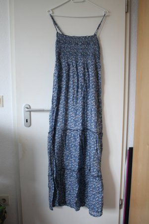 Blaues Maxikleid Sommerkleid