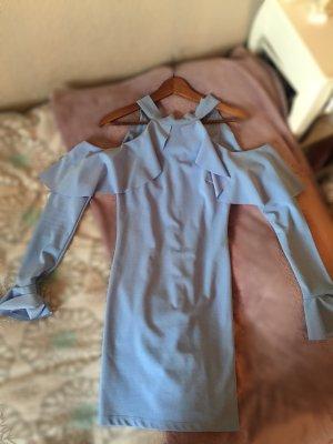 Blaues Mini Kleid